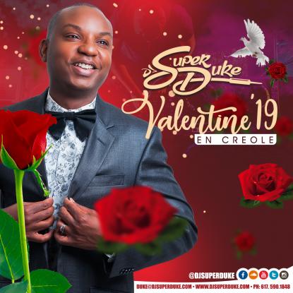 DJ Super Duke - Valentine '19 Kompa en Creole https://soundcloud.com/djsuperduke/dj-super-duke-valentine-19 A mix of all the latest and best Kompa Love Songs by DJ Super Duke  #Valentine19MixEnCreole